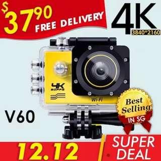 WiFi V60 Action Camera