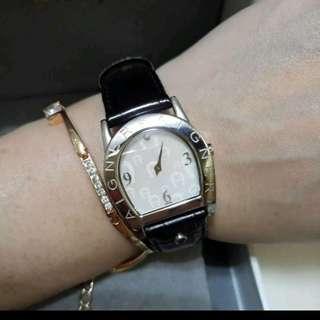 💯瑞士真品AIGNER安格納女用石英錶