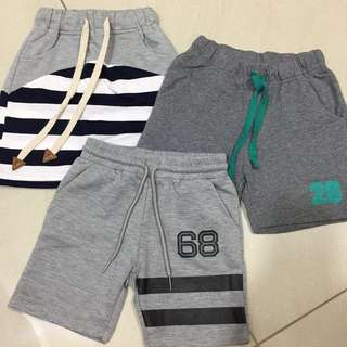 Assorted Brand Shorts for Year 3