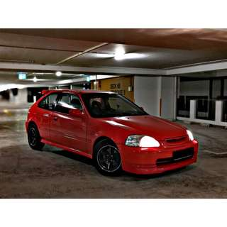 Honda Civic Hatchback Auto