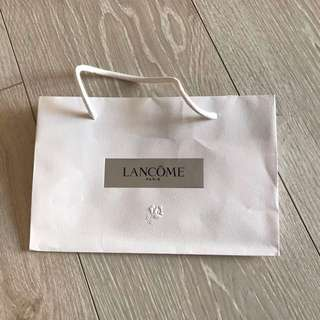 🚚 Lancome 蘭蔻紙袋🎉