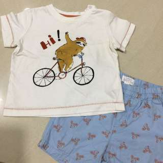 Pumpkin Patch T-shirt Set 18-24 Months