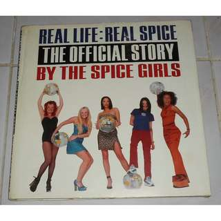 spice girls official book