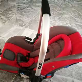 Baby carrier cum car seat