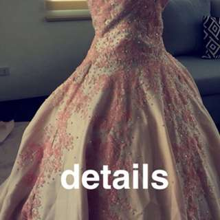 Blush Pink Debut Ball Gown