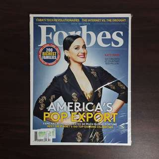 Katy Perry Forbes July 2015