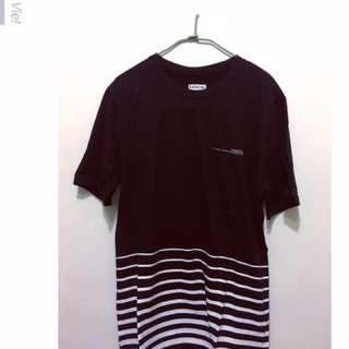 🚚 Radical 條紋黑棉T
