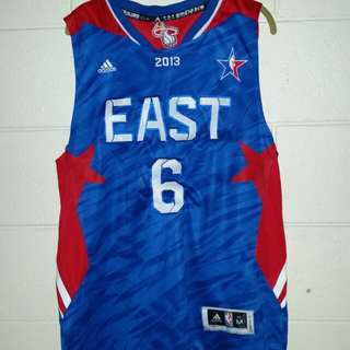 RARE lebron EAST jersey
