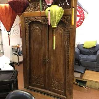 Antique door deco