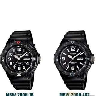 CASIO Men Watch Analog Jam Casio Original Lelaki MRW-200H-HC 20c43bcee8