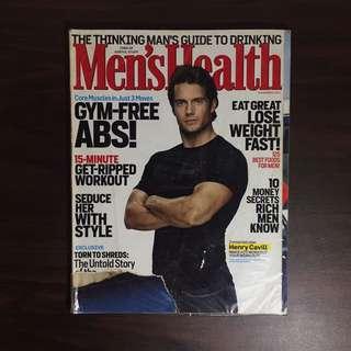 Henry Cavill Men's Health Nov 2011