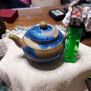 結晶釉茶壼