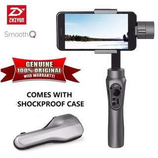 Genuine Zhiyun Smooth Q 3 Axis Gyro Electronic Gimbal Stabilizer-Black