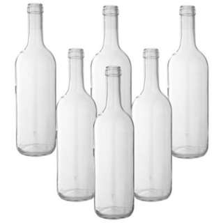 Looking For Clear Wine Bottles