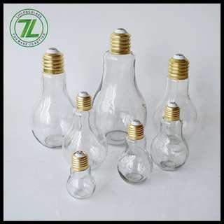 Looking For Light Bulb Bottles