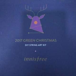 🆕 Innisfree TREE GREEN HOLIDAYS DIY STRING ART KIT (PURPLE)