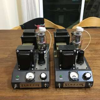 DIY 807 tube monoblock amplifier
