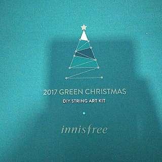 🆕 Innisfree TREE GREEN HOLIDAYS DIY STRING ART KIT (Green)
