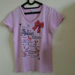 Kaos Pink Bossini