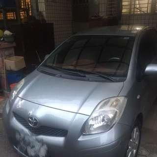 自售 2012  11 Yaris 灰色 iKey 車庫車