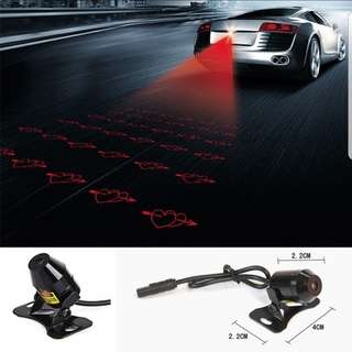 Universal Waterproof Rear Motorcycle  Laser Tail Warning Lights