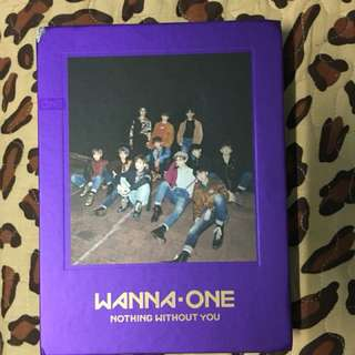 WTS Wanna One Nothing Without You Wanna Ver.