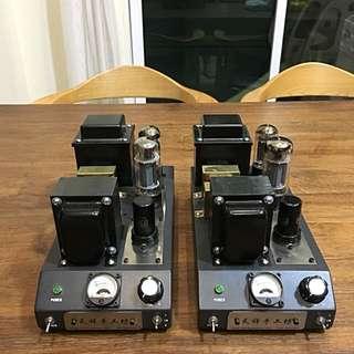DIY 6L6 tube monoblock amplifier