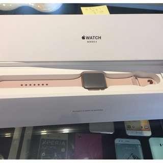 <億亨通訊>AppleWatch 3 42mm 🔥特殊色🔥太空金鋁/沙粉運動