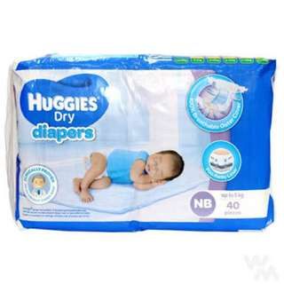 Huggies Newborn 40pcs