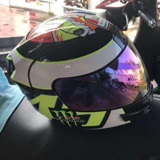Malushun Fullface Helmet size L