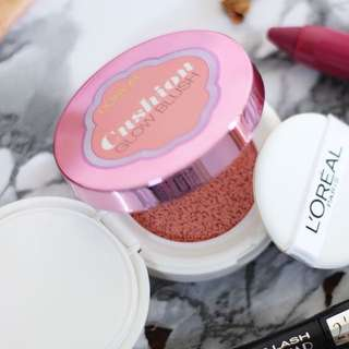 BN NEW Loreal cc cushion magique lucent glow blush