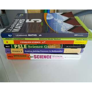 Primary Maths and Science Upper Secondary Book