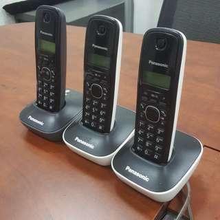 無線室內電話 3部