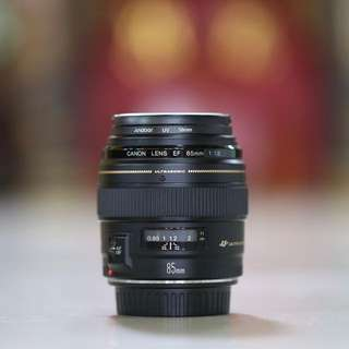 Canon 85mm F1.8 USM (with box)