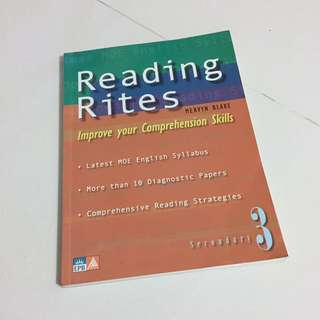 Reading Rites Sec 3 by Mervyn Blake