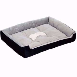 Dog Cat Rabbit Pets Bed TRICOLOR BRAND NEW (2 Sizes)
