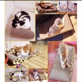 Pet Cat Scratch Board Scratcher Catnip LARGE