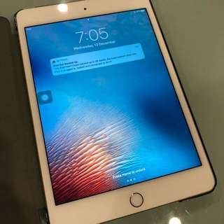 Ipad mini 4 64GB Gold WiFi