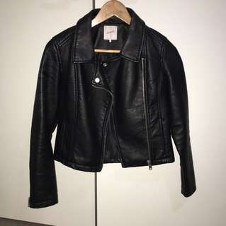 Supre pleather jacket