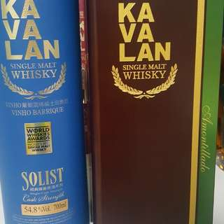 Clearing my Kavalan (Awards wining) collection