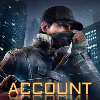 🔥  UPLAY ACCOUNT ACCOUNT WITH WATCH_DOGS (CHEAP) 🔥