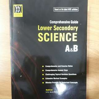 Science//Lower secondary Comprehensive guide