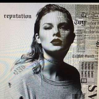 Taylor Swift:Reputation