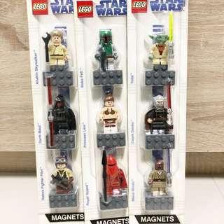 LEGO Star Wars Magnets (852551, 852552 & 852555)