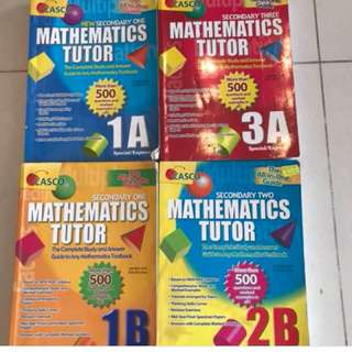 casco sec school math assessment books