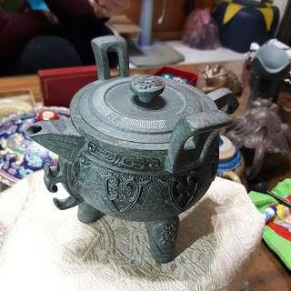 三國鼎立茶壺