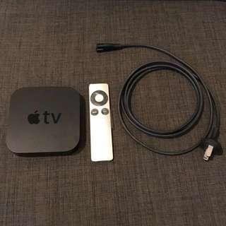 APPLE TV (3rd Generation) (Black) (With BOX)