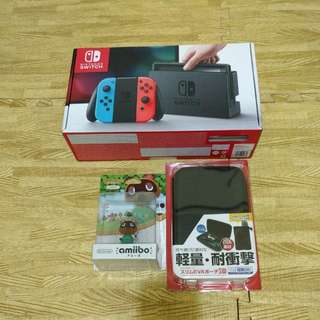 BNIB Nintendo Switch Neon Edition