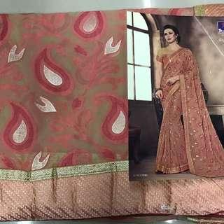 designer fancy saree