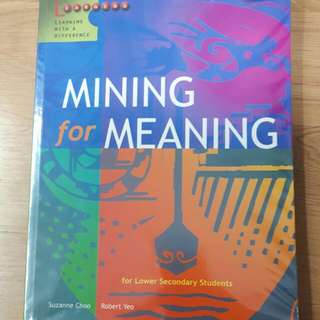 Mining For Meaning // Lower secondary